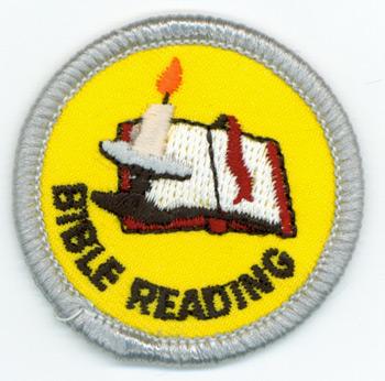 Bible Reading Merit (Silver)