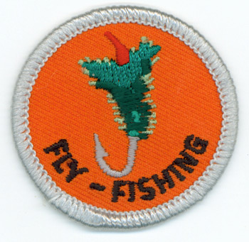 Fly-Fishing Merit (Silver)