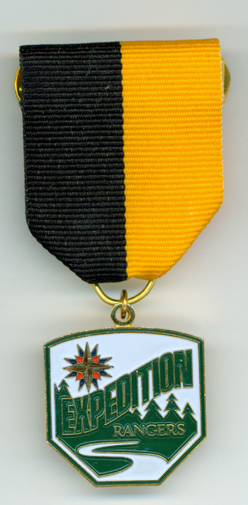 Expedition Rangers E1 Award Medal