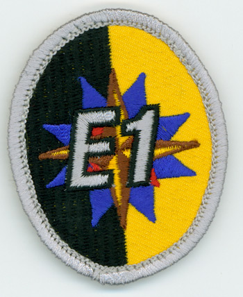 Expedition Rangers E1 Award Patch