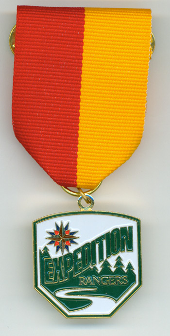 Expedition Rangers E2 Award Medal