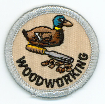 Woodworking Skills Merit (Silver)