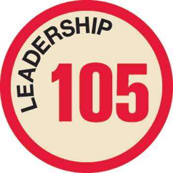 Leadership 105 Merit Patch (Red)