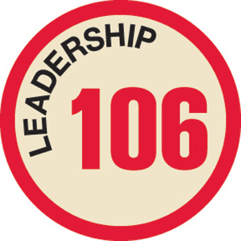 Leadership 106 Merit Patch (Red)