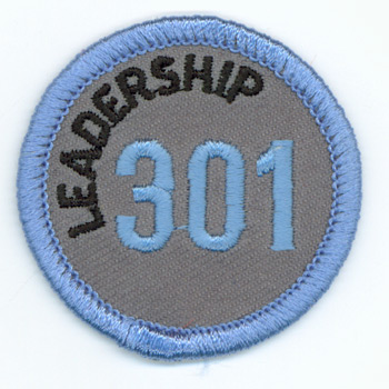 Leadership 301 Merit Patch (Blue)