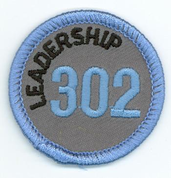 Leadership 302 Merit Patch (Blue)