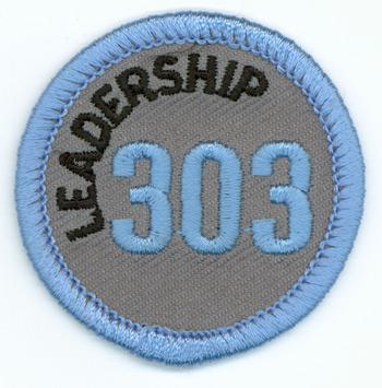 Leadership 303 Merit Patch (Blue)