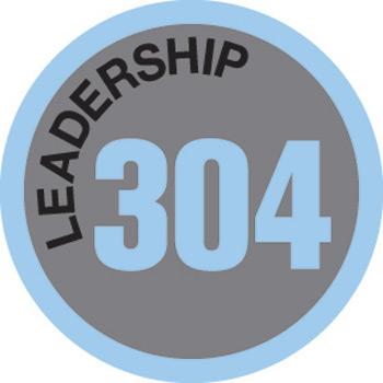 Leadership 304 Merit Patch (Blue)