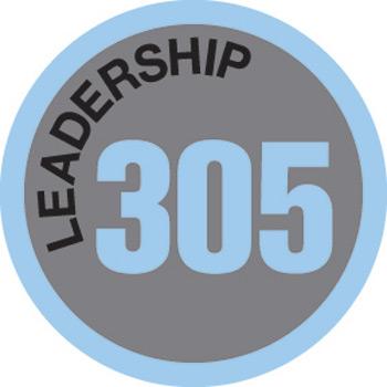 Leadership 305 Merit Patch (Blue)