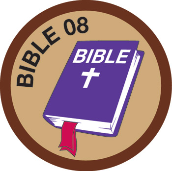 Bible Merit #8 (Brown)