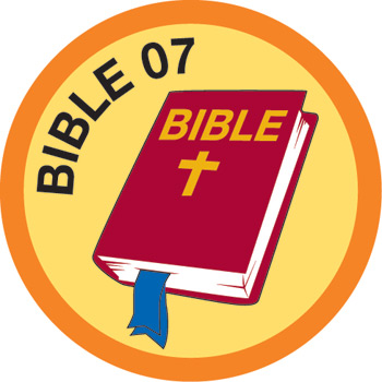 Bible Merit #7 (Orange)