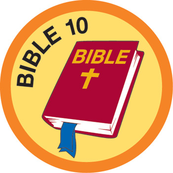 Bible Merit #10 (Orange)