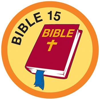 Bible Merit #15 (Orange)