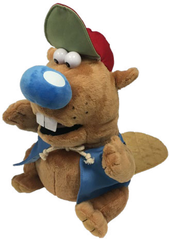 J.B. Beaver Puppet