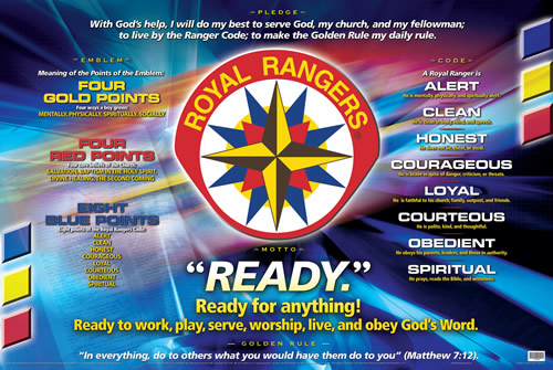 Royal Rangers Program Poster