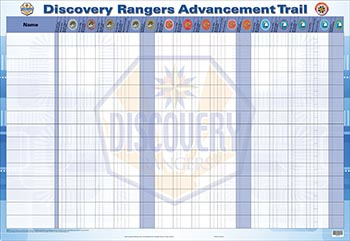 Discovery Rangers Advancement Tracking Chart