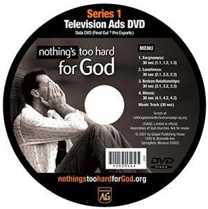 TV Ad Series: Series 1, Data DVD