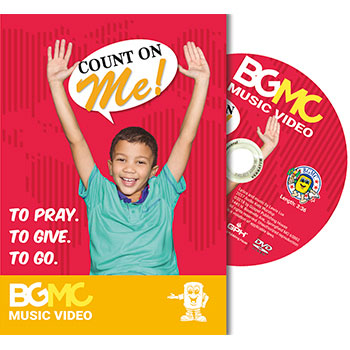 Count on Me Music Video DVD