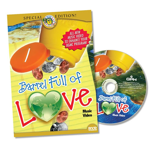Barrel Full of Love Music Video DVD