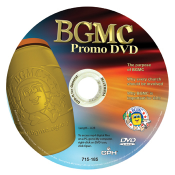 BGMC Promo DVD - Reaching the Children of the World