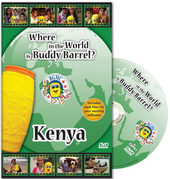 Where in the World is Buddy Barrel? Kenya DVD