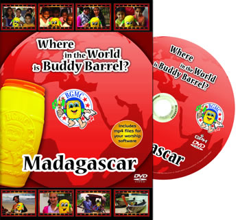 Where in the World is Buddy Barrel?  Madagascar DVD