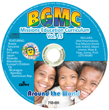 Volume 15-2013 BGMC Missions Manual CD