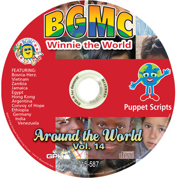 Volume 14-2012 Winnie the World Skits pre-recorded on CD