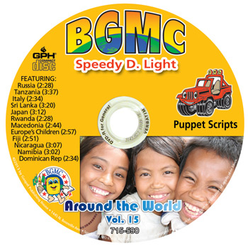 Volume 15-2013 Speedy D. Light Skits pre-recorded on CD