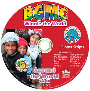 Volume 16-2014  Winnie Skits pre-recorded on CD