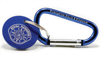 Royal Rangers Carabiner Key Ring
