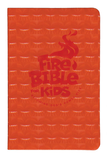 Vintage Leather Look Jeremiah Verse Bible Book Cover Large: Fire Bible For Kids NIV, Flex Cover