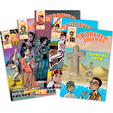 Say HELLO Forever Friends® Comic Book Set