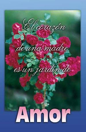 Boletines el coraz n de una madre es un jard n de amor for Amor en el jardin
