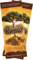 All You Need to Grow Bookmark - Bilingual