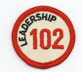 Leadership 102 Merit Patch (Red)