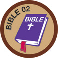 Bible Merit #2 (Brown)
