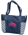 Girls Ministries Chevron Tote