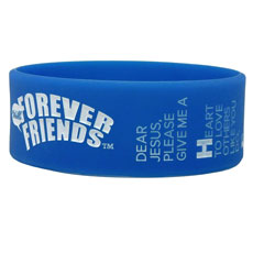 Say HELLO Forever Friends® Wristband