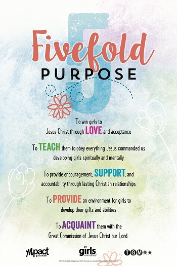 Fivefold Purpose Poster Bilingual My Healthy Church 174