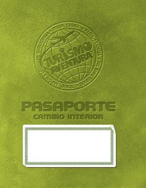 Turismo aventura cambio interior gu a del l der con cd for Pasaporte ministerio interior