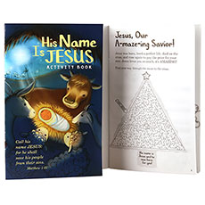 His Name Is Jesus Activity Book