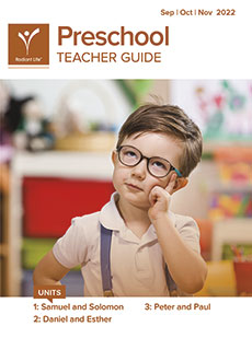 Preschool Teacher Guide Fall