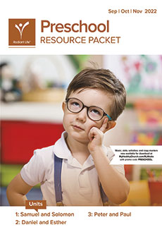 Preschool Resource Packet Fall