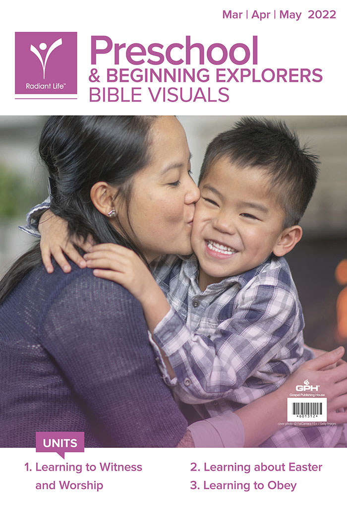 preschool beginning explorers bible visuals spring my healthy