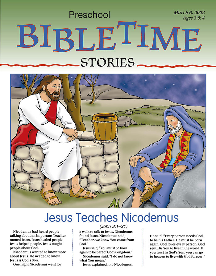 Preschool BibleTime Stories Spring | My Healthy Church®