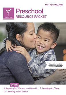 Preschool Resource Packet Spring