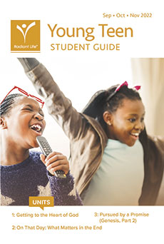 Young Teen Student Guide Fall