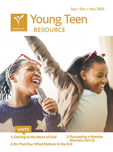 Young Teen Resource Packet Fall