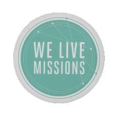 We Live Missions Stickers (50 count)